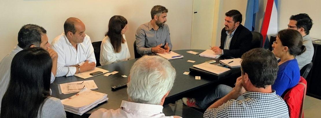 Reunión con las nuevas autoridades de la Secretaría de Ambiente de Entre Ríos