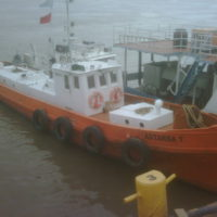 Flota fluvial ASTARSA I de recolección y transporte de residuos | Grupo Quimiguay