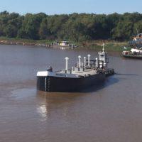 Flota fluvial MARIA CAROLINA de recolección y transporte de residuos | Grupo Quimiguay