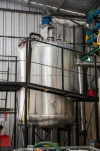 Destilación: Tratamientos de residuos peligrosos y saneamiento #1   Grupo Quimiguay