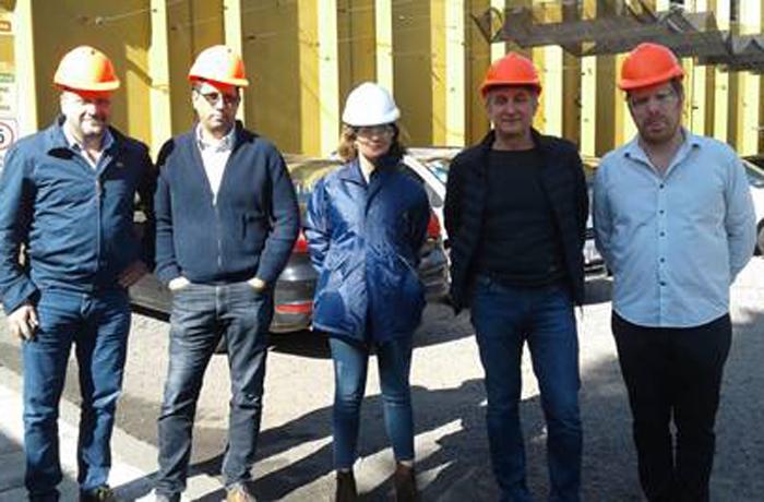 Funcionarios ambientales de Buenos Aires y Nación recorrieron plantas de tratamiento de residuos de CAITPA