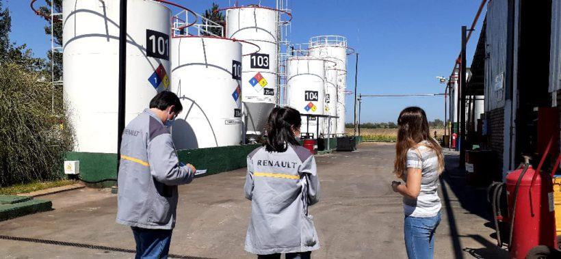 Un equipo de Renault visitó la planta de Córdoba