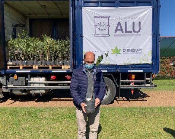 Grupo Quimiguay entregó los primeros plantines del programa ALU